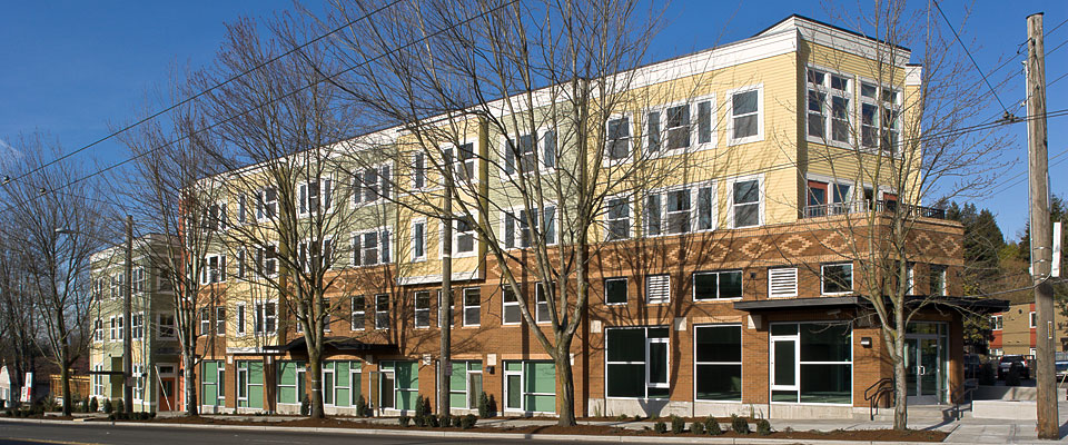 Rainier House Supportive Homeless Housing